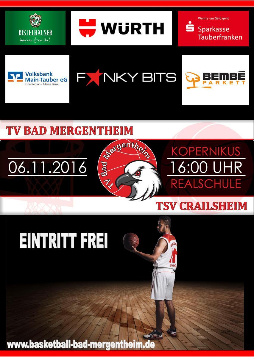 Bad Mergentheim - TSV Crailsheim zur Gast in Bad Mergentheim ...